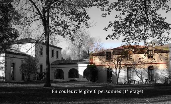 Vue générale gîte Barguillere