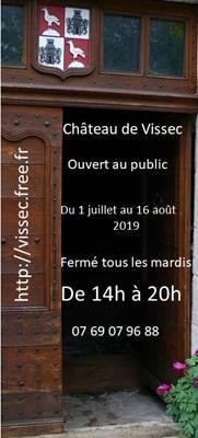 Visite Chateau de Vissec