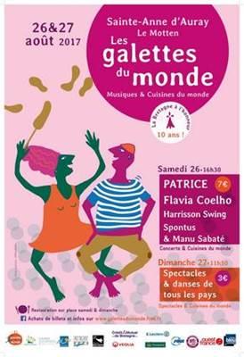 Festival Les Galettes du Monde 2017-Ste Anne d'Auray