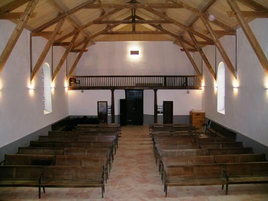 Intérieur temple des Bordes sur Arize