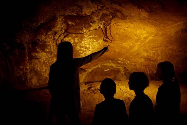 Grotte de Niaux - La visite