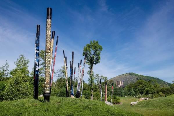 Parc Bouycheres - Bâtons de calligraphie
