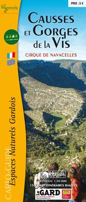 Cartoguide Causses et Gorges de la Vis
