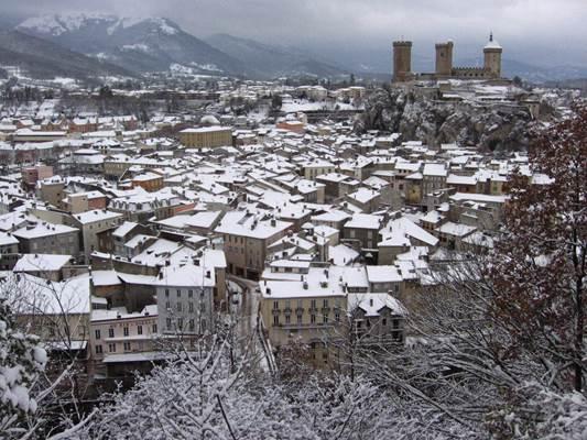 Foix en Hiver