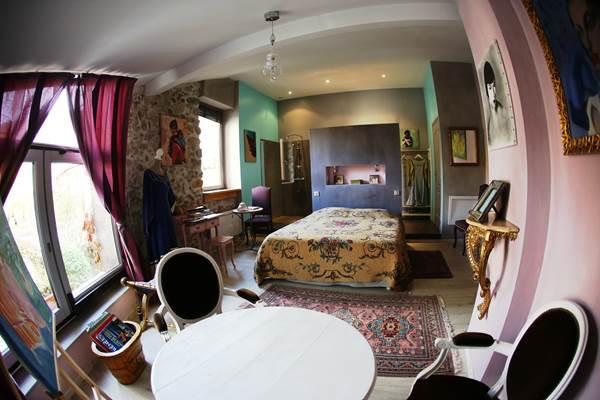 Ch La Mirandole - chambre salon