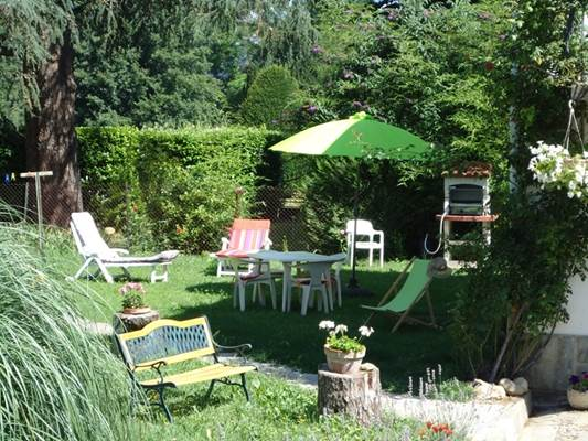 Jardin Gîte de Labarre