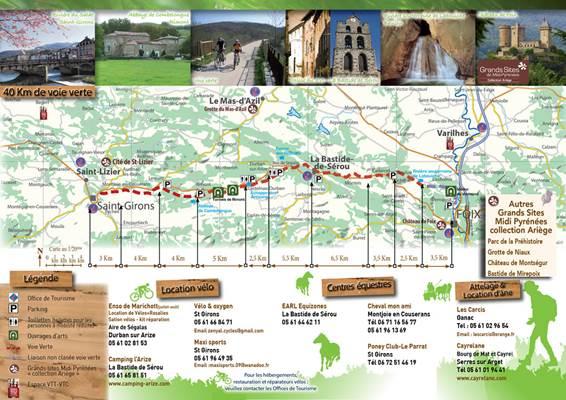 Voie Verte Foix Saint Girons