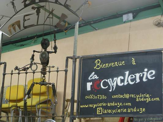 recyclerie anduze