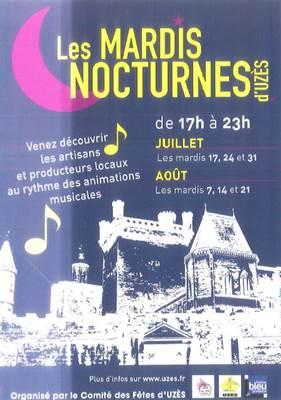 mardis nocturnes