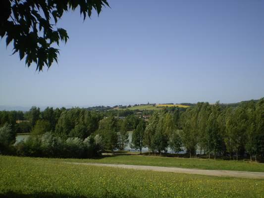 vue sur le lac st ybars