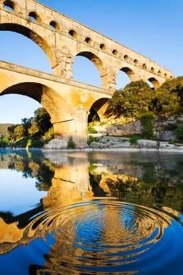 Visite au Pont du Gard