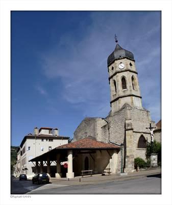 Eglise ST-Etienne LE MAS D'AZIl