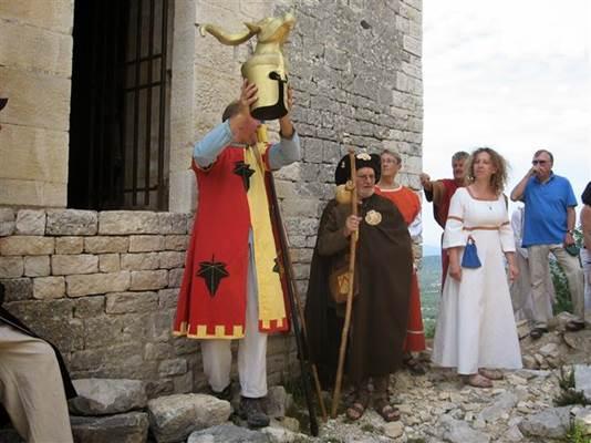 La procession de la Cabre d'or