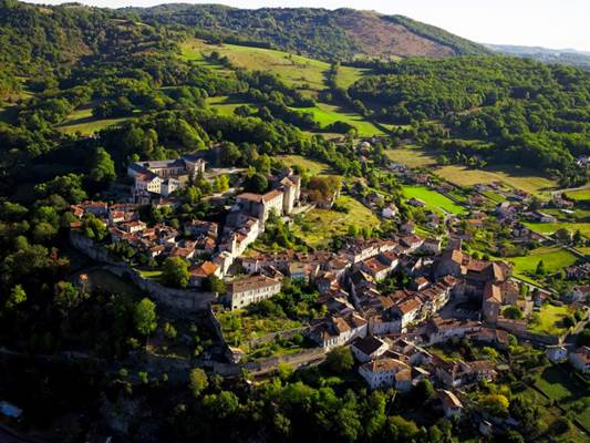 Saint Lizier panorama