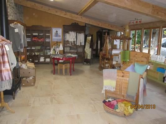 boutique et atelier de tissage le Pelerin
