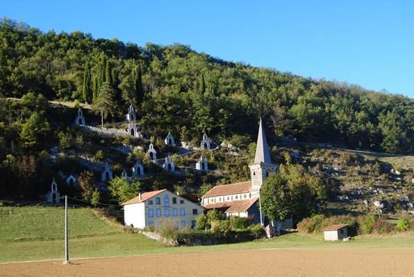 Eglise de Raynaude au Mas d'Azil
