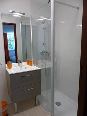 LES TOURNIES- salle d'eau