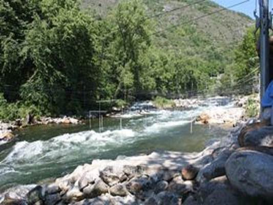stade d'eaux vives à Foix