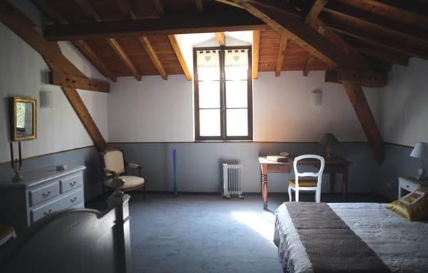 gîte Barguillère chambre