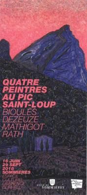 Exposition Quatre peintres au pic Saint Loup