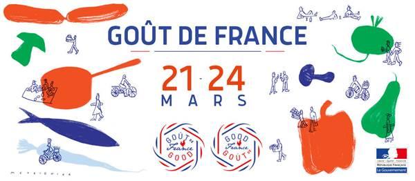 Affiche Goût de France