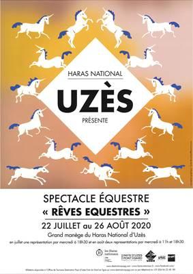 Rêves équestre - Spectacle au Haras National Uzès 2020