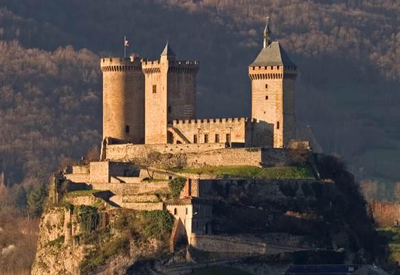 Château de Foix - Groupes