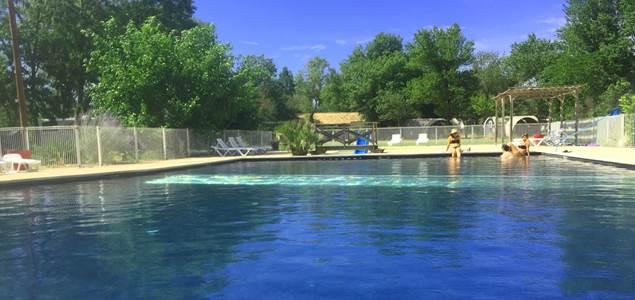 camping grande piscine gard cevennes HI
