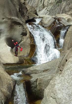 Pierre et Eau canyoning