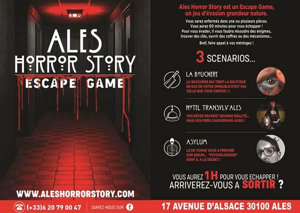 Escape Game Horror Story
