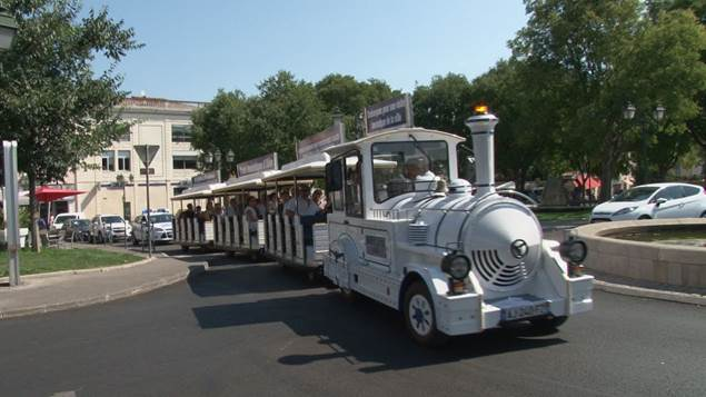 Petit train touristique d'Alès - ALES