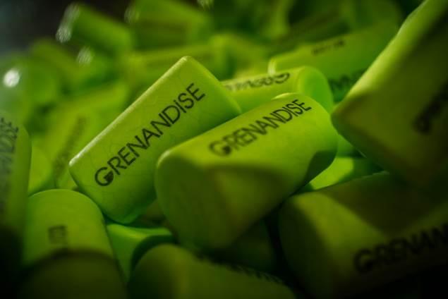 Grenandise est le nom de notre rosé 100% grenache, IGP Pas d'OC