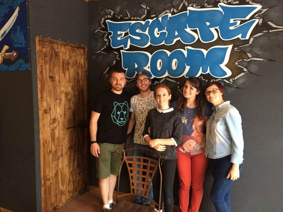 escape room - groupe