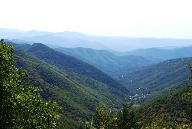 Panorama sur les Cévennes