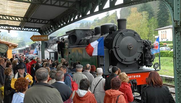 Gare du train à vapeur St Jean du Gard