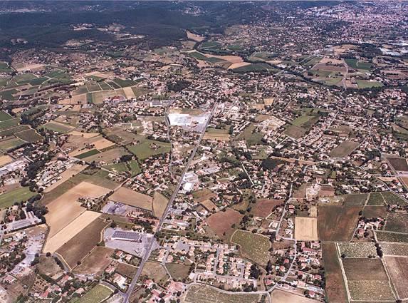 Saint-Christol-les-Ales-vue-aerienne