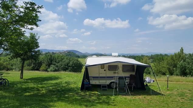 Camping avec vue