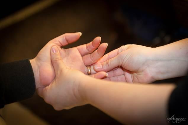 amma pause bien être massage mains