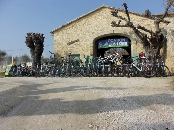 Location Vélos Uzès
