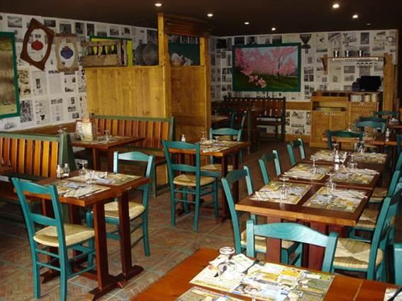 Restaurant La Pataterie salle de restaurant