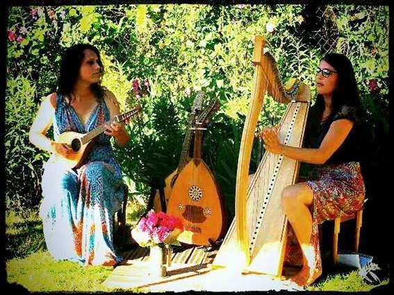 Soirée musicale à la Bambouseraie - Duo Ishtar Bambouseraie