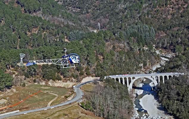 Cévennes hélicoptère St Croix de Caderle 4