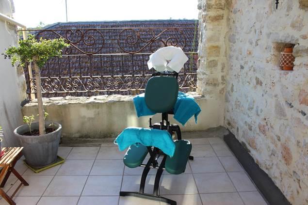 amma pause bien être fauteuil massage deaux