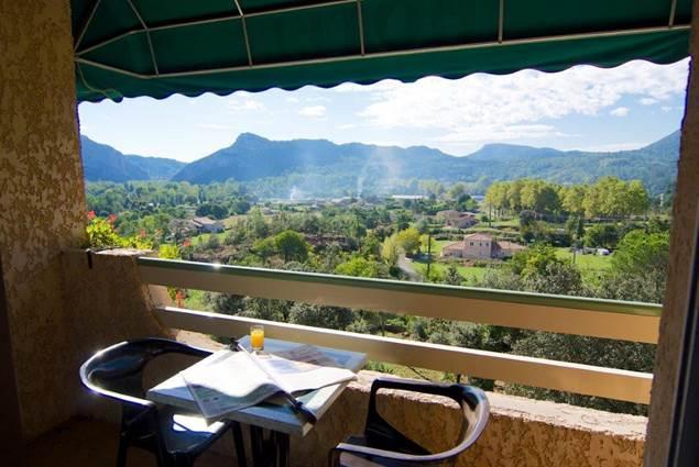 Restaurant La Porte Des Cévennes vue panoramique