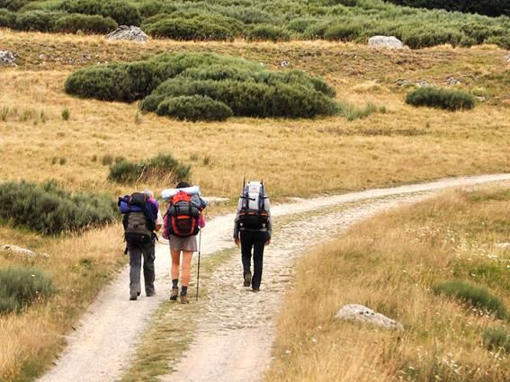 La voie Régordane chemin de randonnée en Cévennes