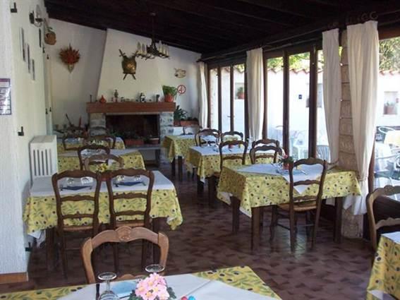 Auberge l'Eglantine salle de restaurant
