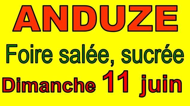 Foire Salée Sucrée ANDUZE