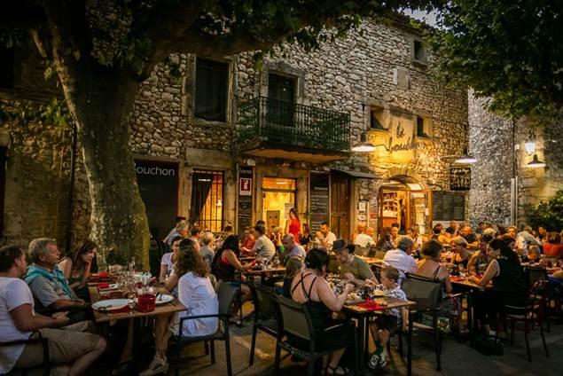 Le Café du Bouchon - Aiguèze