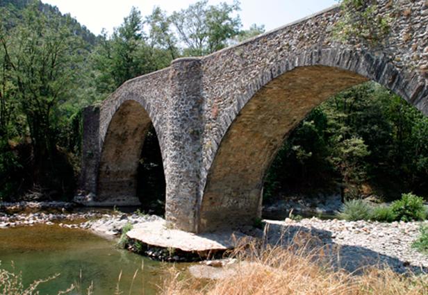 Cendras - Pont des Camisards