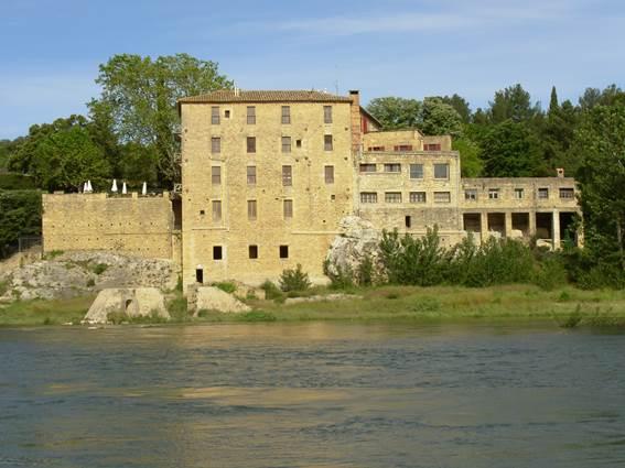 Pont du Gard - Vieux moulin
